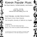 "March 8, 2019 ""100 Years of Korean Popular Music"""