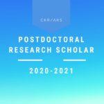 Center for Korean Research AKS Postdoctoral Fellowship in Korean Studies, 2020-21